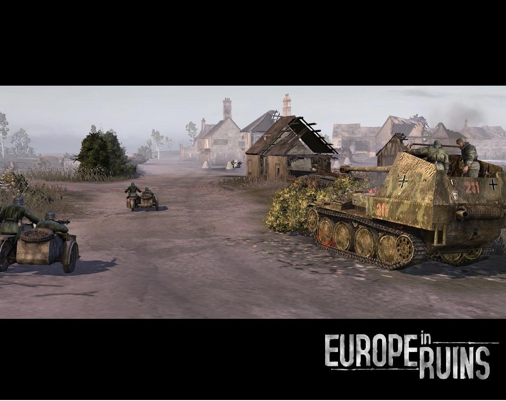Game Mods: Company of Heroes: Opposing Fronts - Europe in Ruins