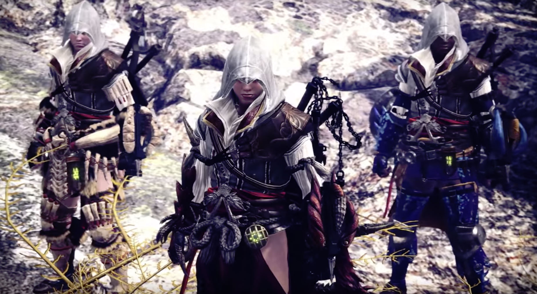 Assassin's Creed comes to Monster Hunter