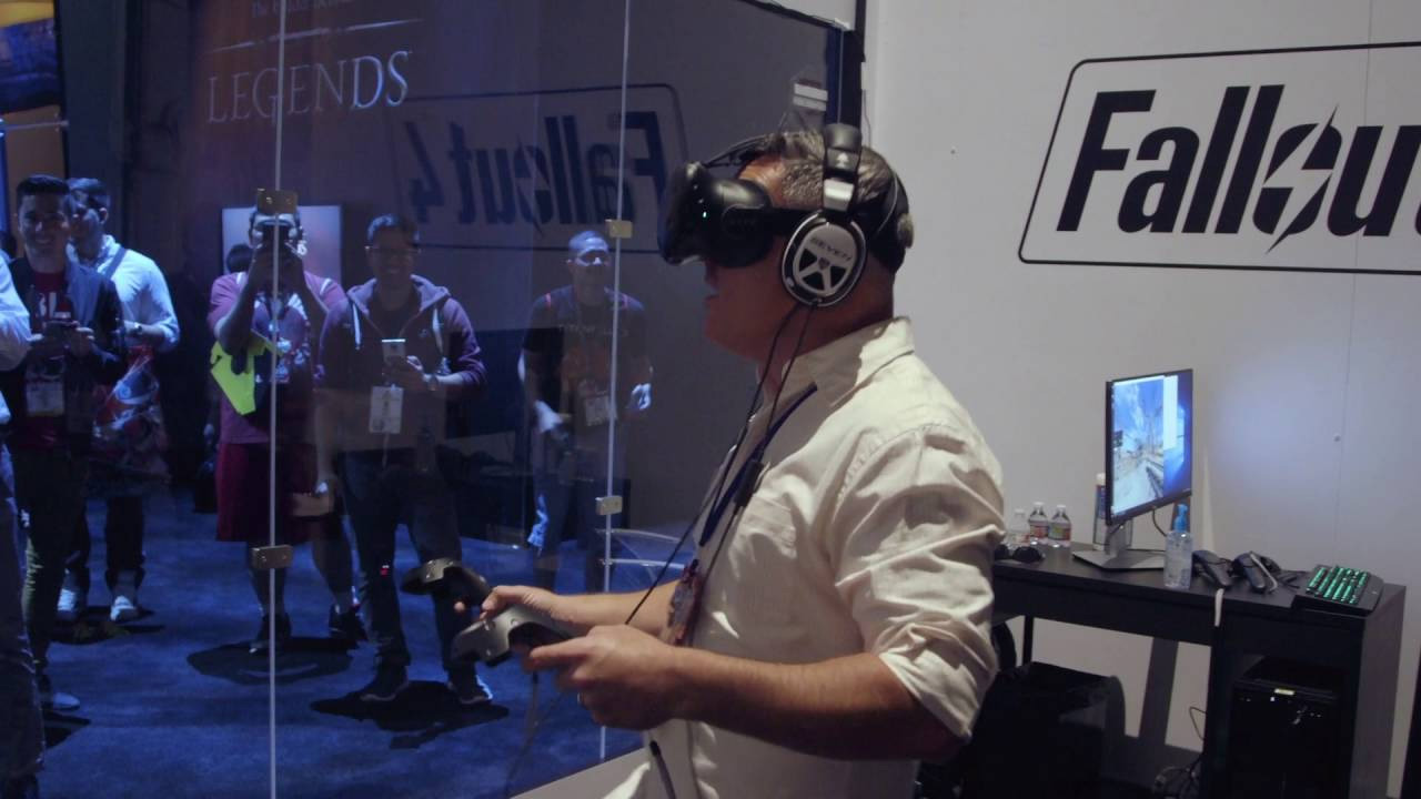 Bethesda wants to recreate Fallout 4 in VR, says Todd Howard
