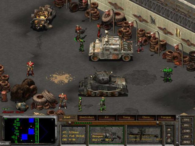 Секрет: Совет для Fallout Tactics: Brotherhood of Steel - секреты, коды, чи