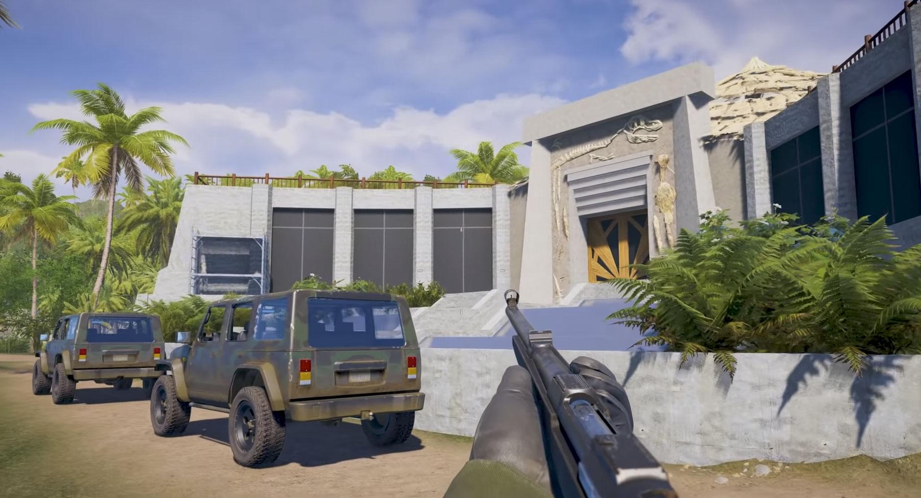 News: Far Cry 5 modder recreates Jurassic Park   MegaGames