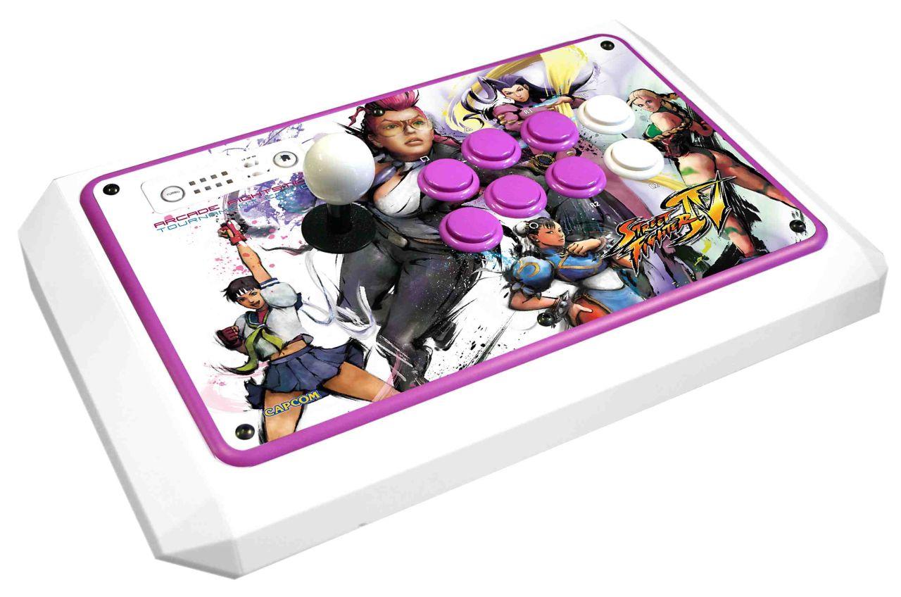 News Femme Fatale Street Fighter Iv Fightstick Unveiled Megagames