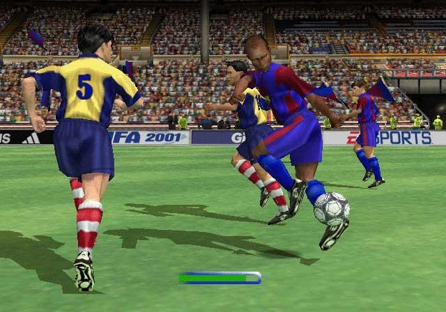 FIFA 2001 - Various Cheats.