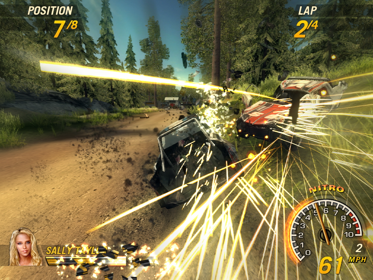 Demos: PC: FlatOut 2 Demo | MegaGames