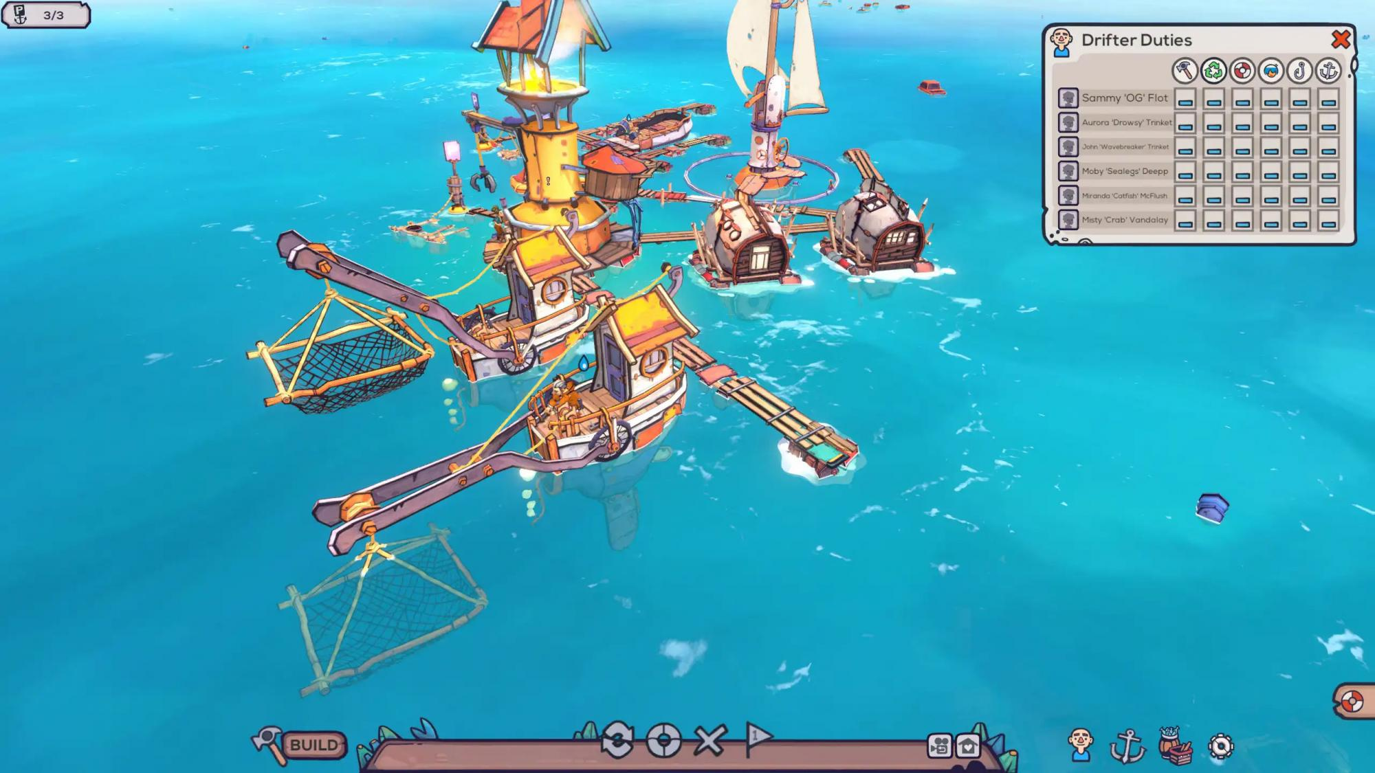News: Cell shaded, city-builder, Flotsam, is a modern Waterworld