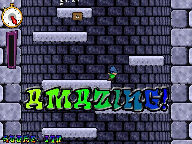 Freeware / freegame: icy tower v. 1. 2 | megagames.