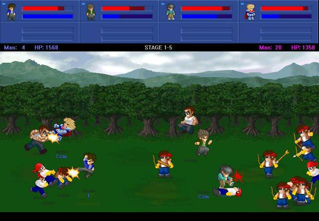 Little fighter 2 cheat codes