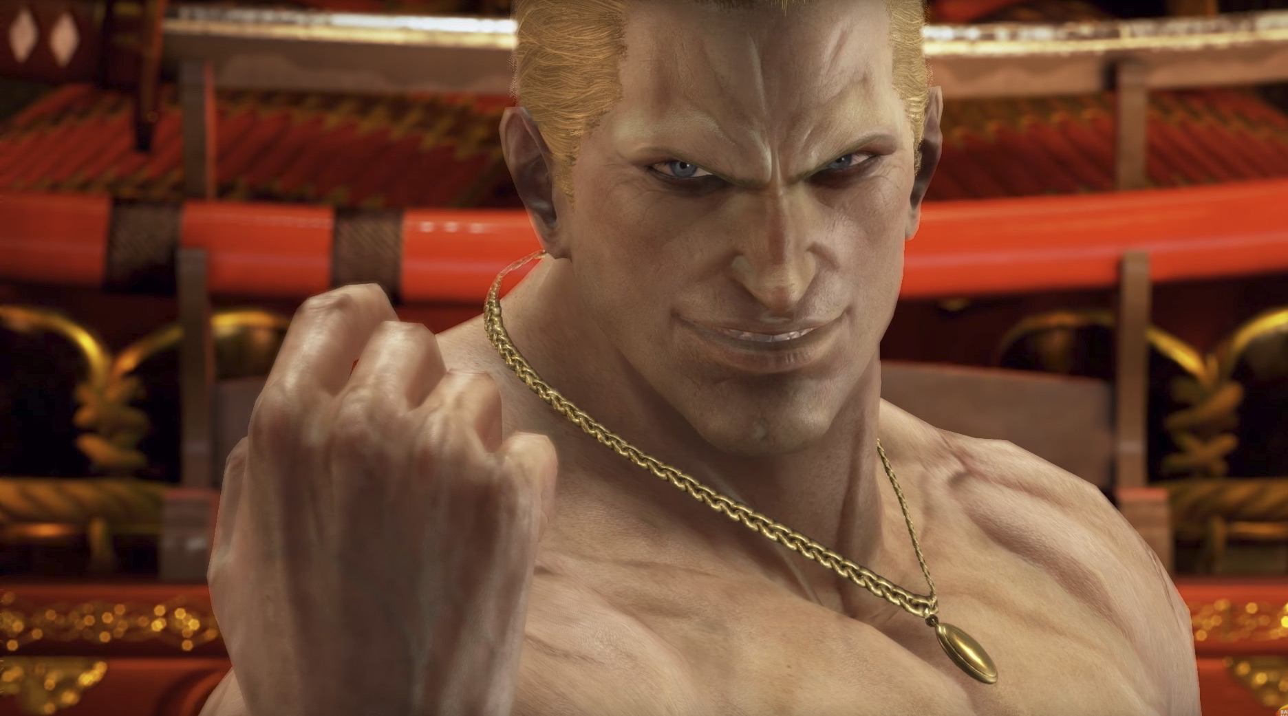 Geese Howard official Tekken 7 release trailer