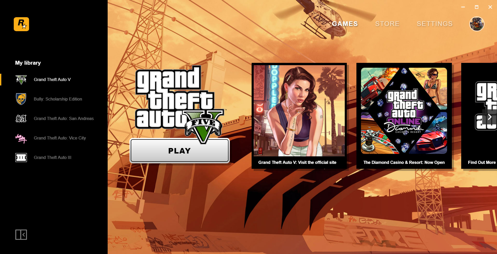 Rockstar launches its own launcher and store, gives away GTA San Andreas