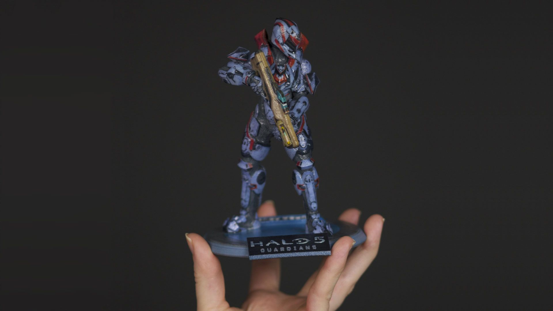 News  You Can Turn Your Halo 5 Spartan To A 3d Printed
