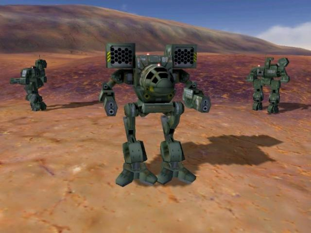 Mechwarrior 4 Mercenaries with crack