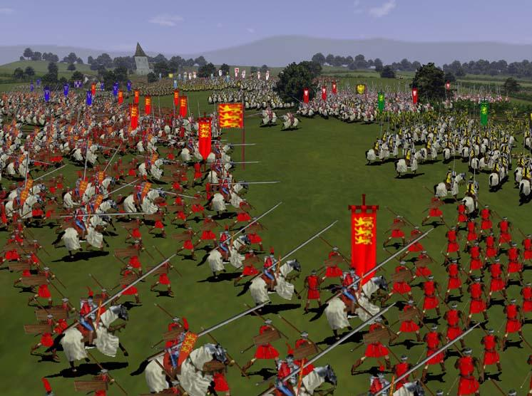 Medieval Total War battle