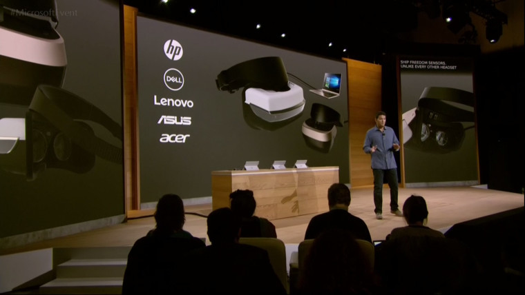 News microsoft announces windows 10 vr headsets lineup starting at