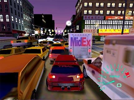 Car Game Midnight Club