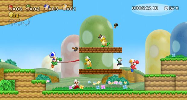New Super Mario Bros Wii Level | newhairstylesformen2014.com