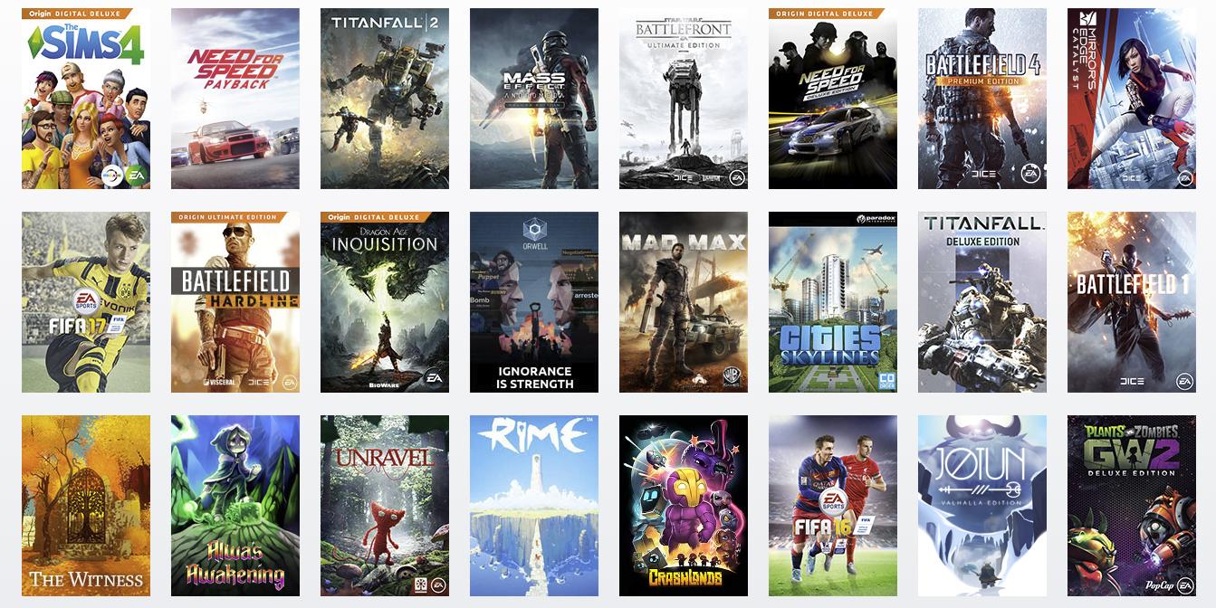 News: EA kills off Origin free game program | MegaGames