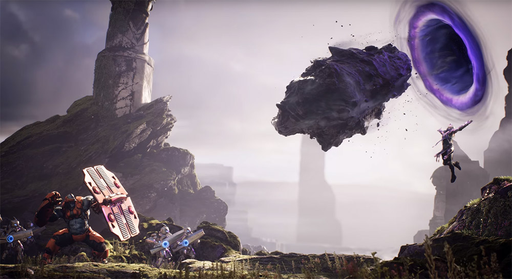 Epic Games MOBA Paragon coming to PS4, PC in 2016