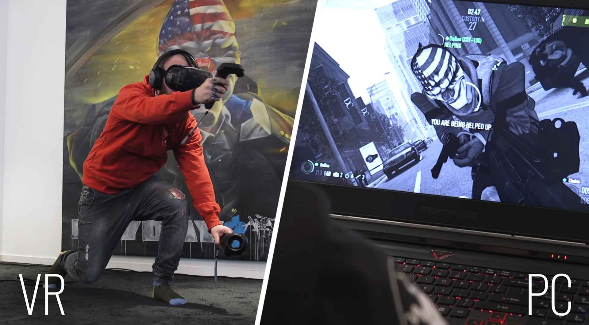 Virtual Heists - Payday 2 is Getting a Robust VR Mode This Year