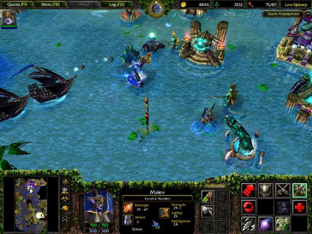 Скачать - Все патчи для Warcraft 3: The Frozen Throne (2011/RUS/ENG).