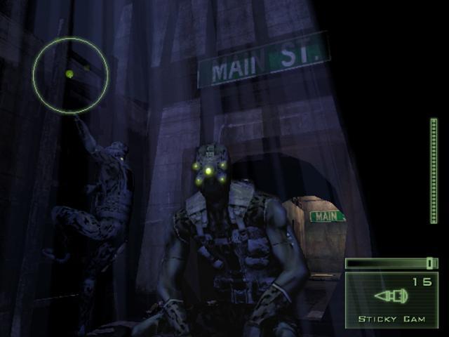 Games Splinter Cell Pandora Tomorrow Megagames