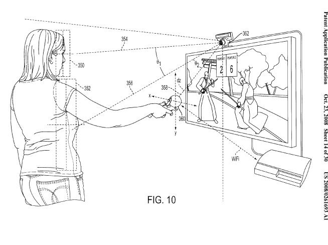 News Sony Patents Multi Part Motion Tracking Controller