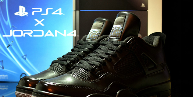 News: So there's a pair of PS4 Air Jordans now... | MegaGames