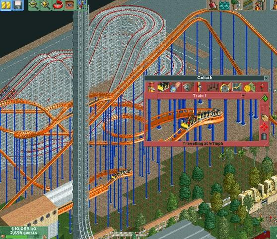 Game Patches: RollerCoaster Tycoon Patch - US | MegaGames