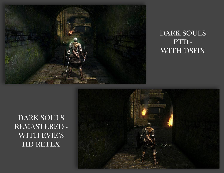 News Dark Souls Quot Evie S Ultra Hd Quot Texture Back Makes The