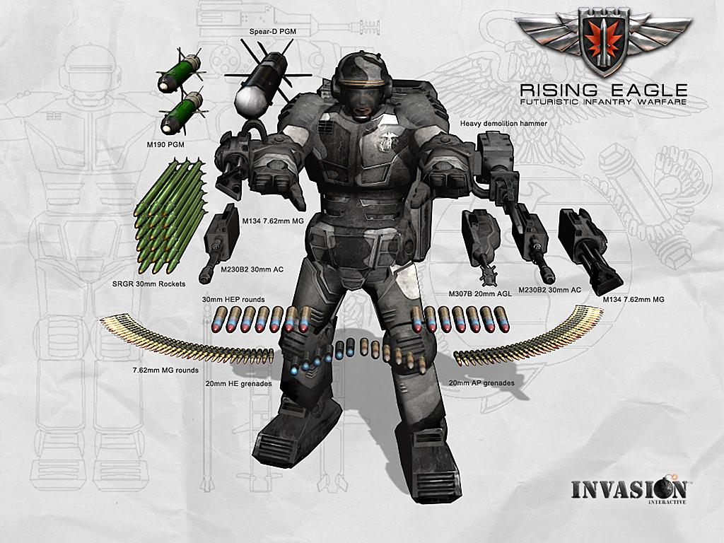Freeware / Freegame: Rising Eagle: Futuristic Infantry Warfare v1 ...