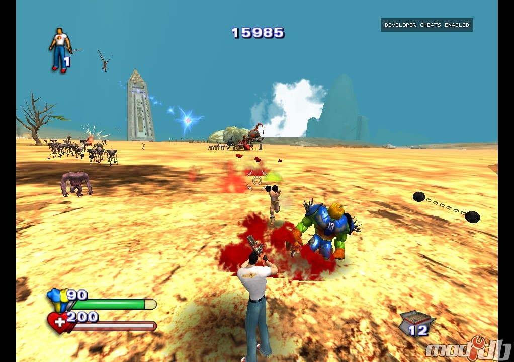 serious sam bfe cheats