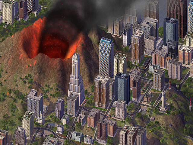 Výsledek obrázku pro simcity 4 catastrophes