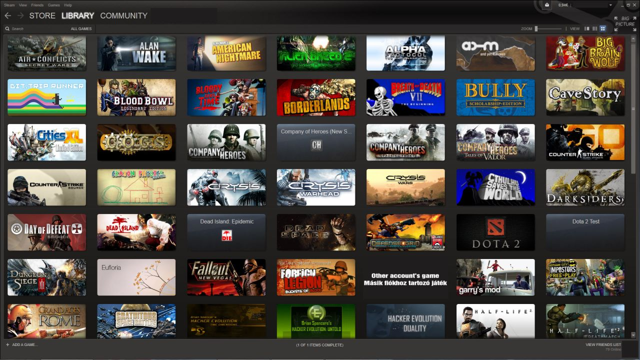 how to add games to steam library