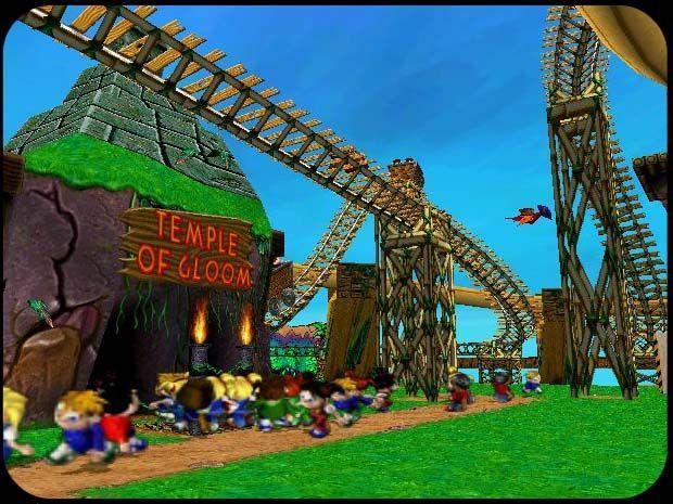 Sim Theme Park vs Sim Coaster Sim Theme Park v 2