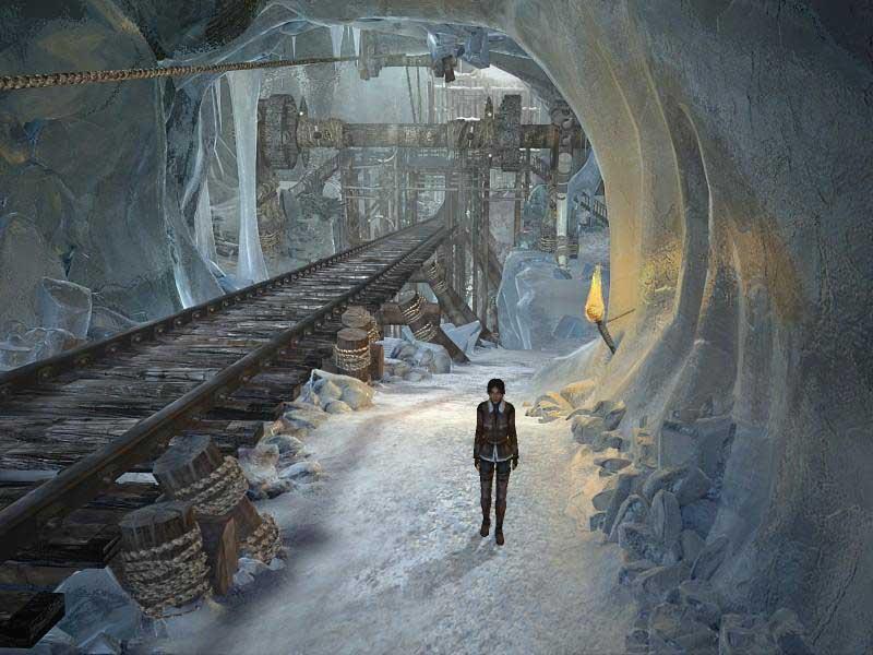Vos jeux et niveaux où il fait froid préférés Syberia2demos_4