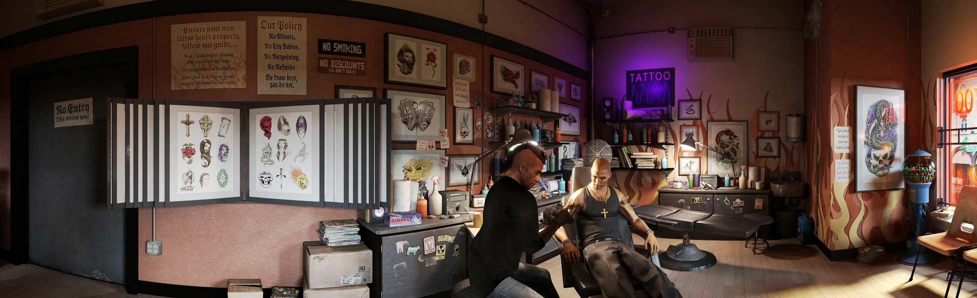 News gta v yoga is um megagames for Tattoo shop games