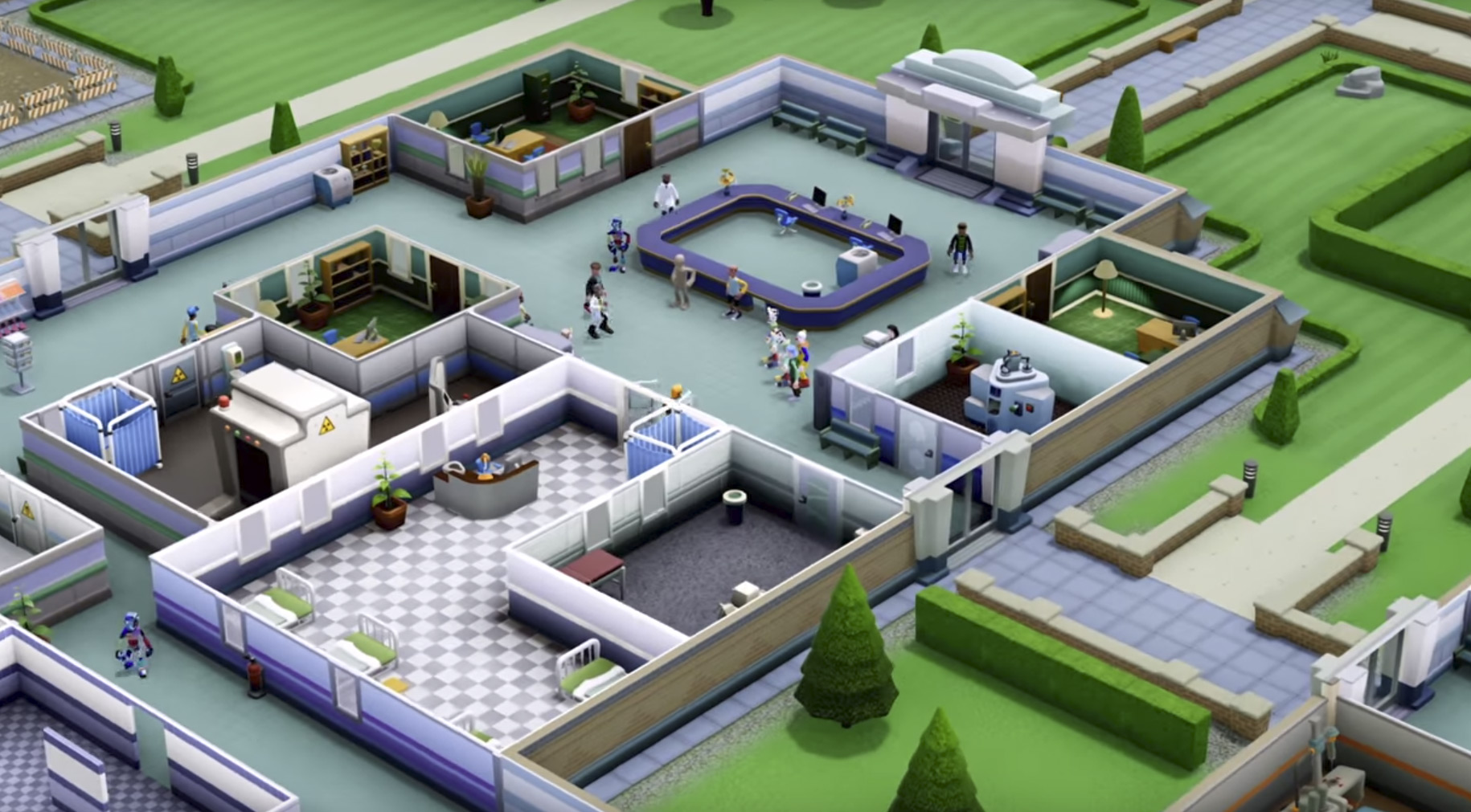 'Two Point Hospital' Announced - Screens & Trailer