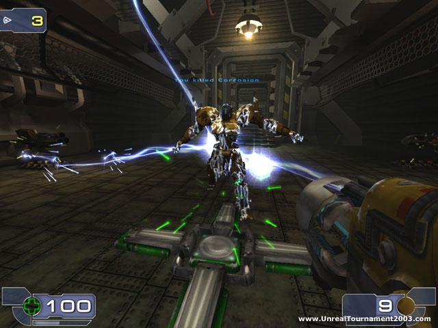 Demos pc unreal tournament 2003 official demo megagames for Unreal tournament 2003