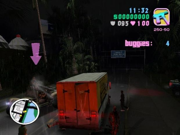 Game Mods: Grand Theft Auto: Vice City - Long Night Zombie Mod ...