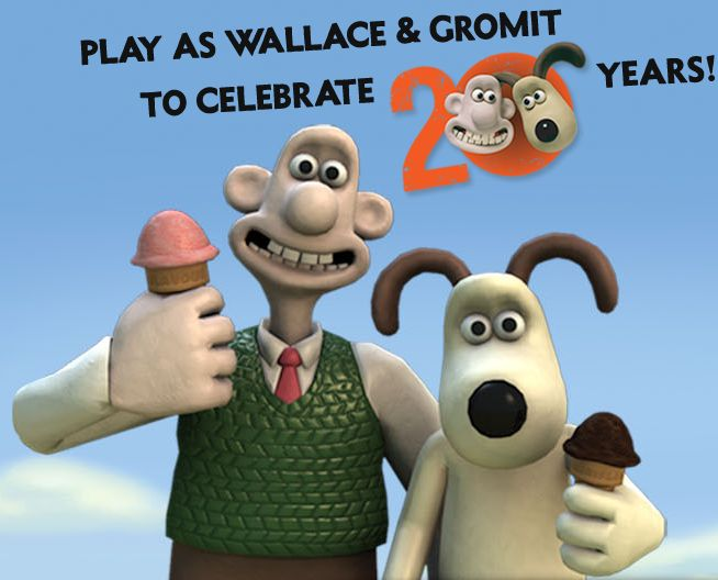 wallace and gromit 25th anniversary