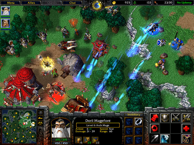 news warcraft iii reign of chaos goes gold megagames