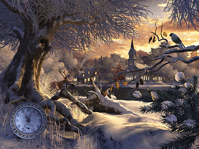 winter wonderland screensavers free