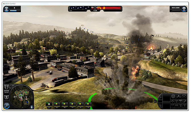 World in conflict: soviet assault review for pc.