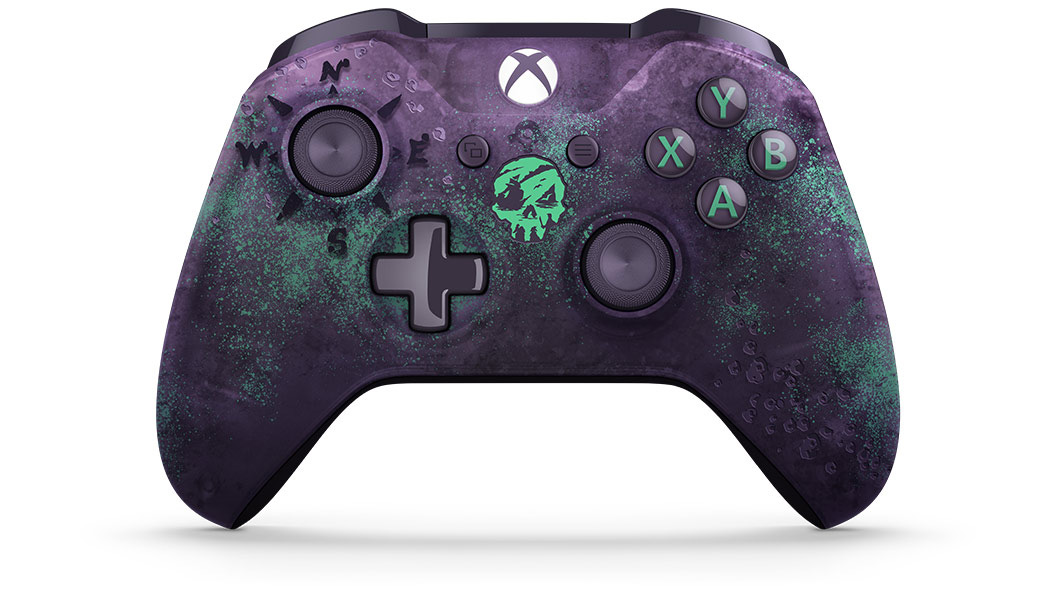 'Sea of Thieves'-Themed Xbox One Controller Glows in the Dark