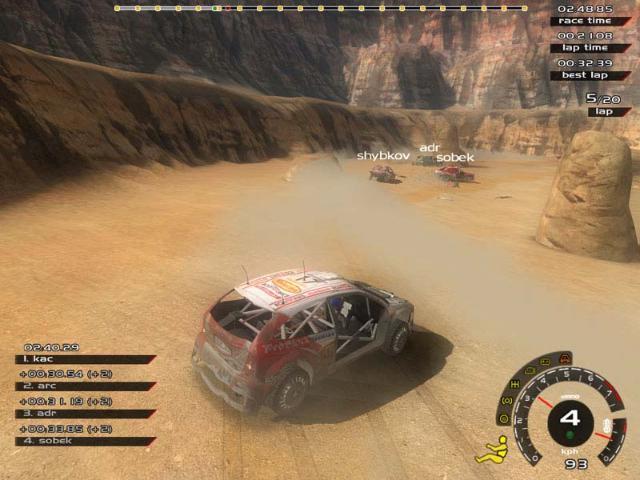 Скриншоты для игры Xpand Rally можно скачать на компьютер. Читы, коды.