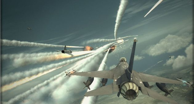 how to play ace combat infinity pc