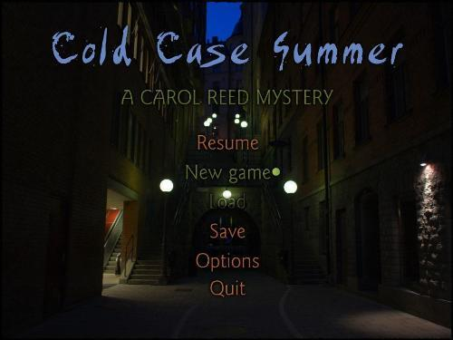 Cold case summer a carol reed mystery final