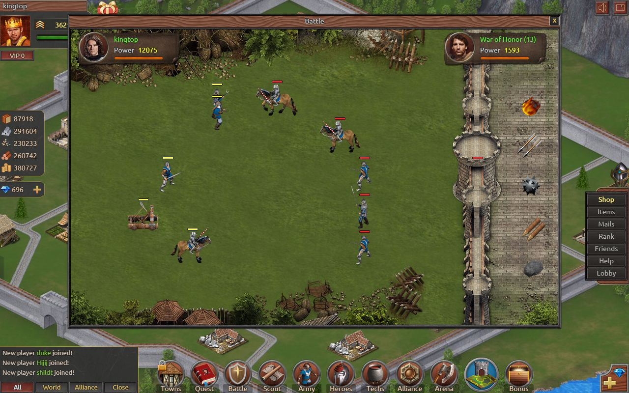 Age Of War Multiplayer