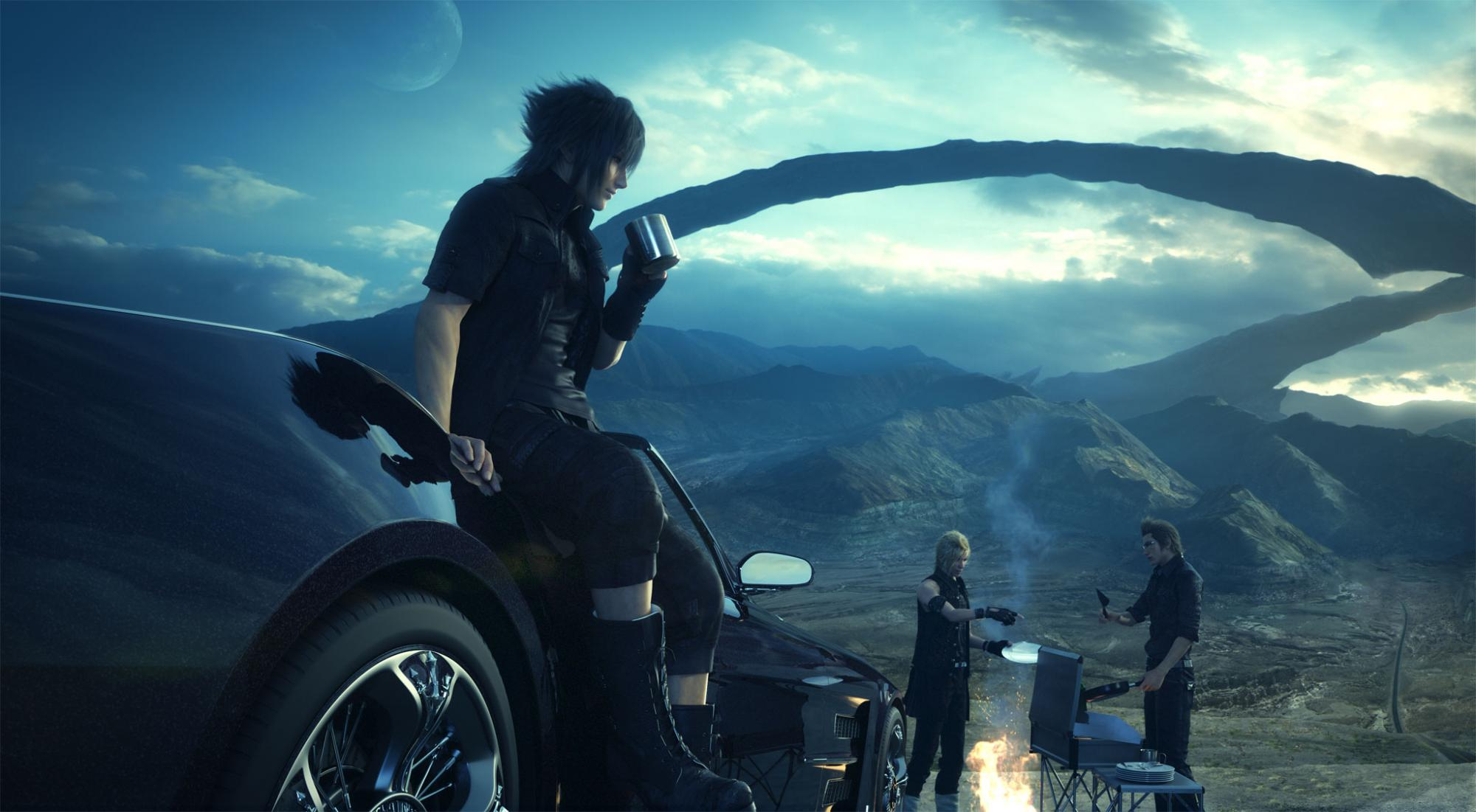 Home Design Story Game Download For Pc Video Trailer Final Fantasy Xv Tgs 2014 Trailer Megagames