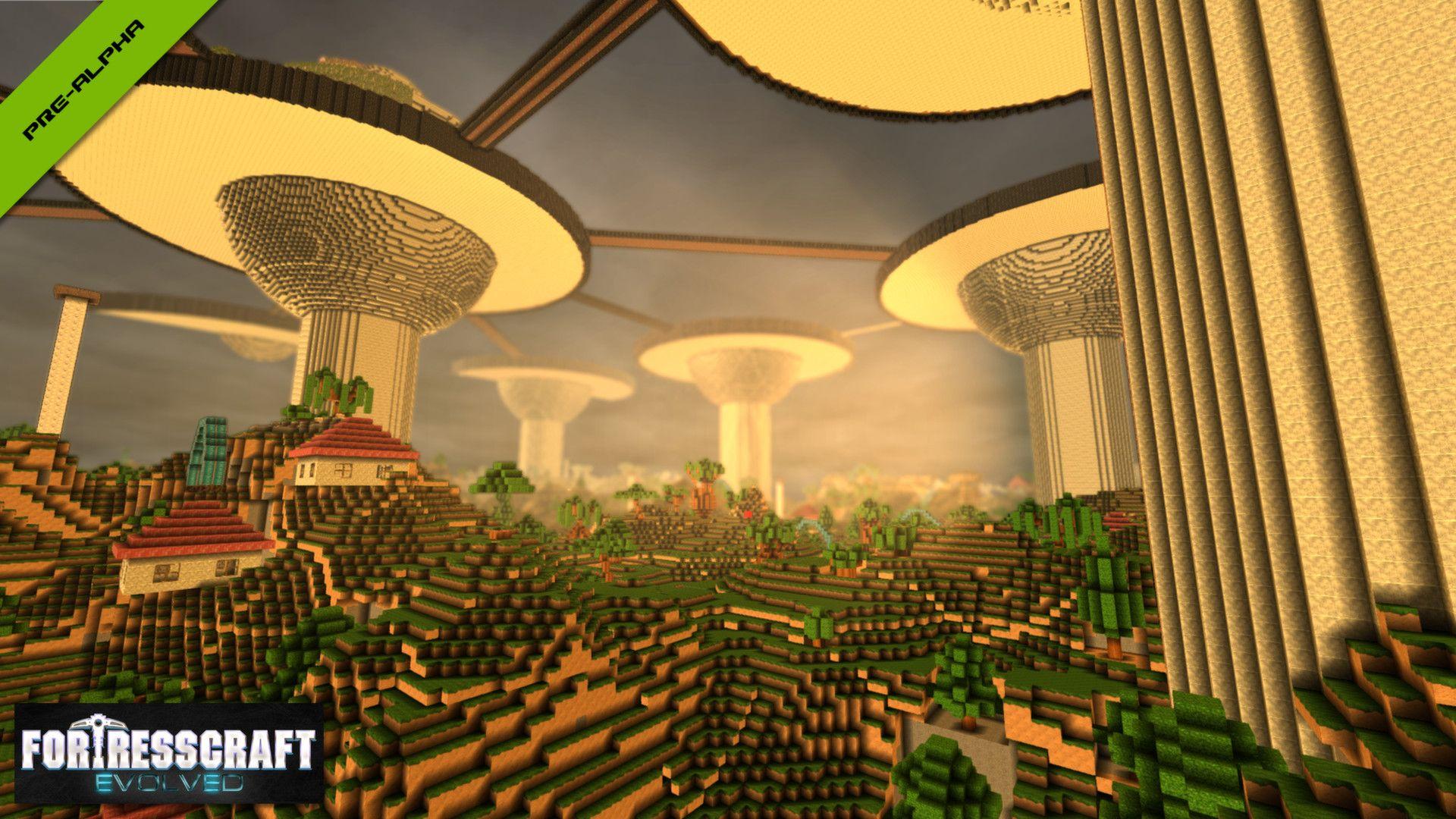 Xbox 360 Console Mods Games: FortressCraft E...