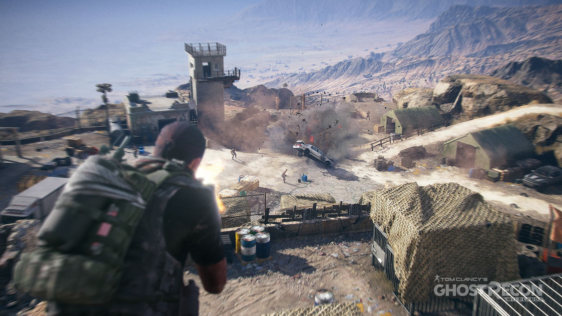 Tom Clancy's Ghost Recon Wildlands Getting PvP Mode this Fall